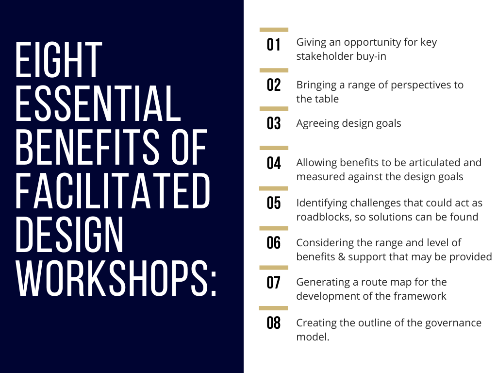 Eight Essential Benefits of Facilitated Design Workshops