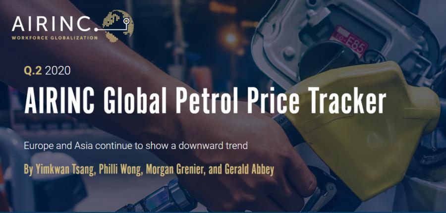 AIRINC Petrol Prices Q2 2020 - 900 image