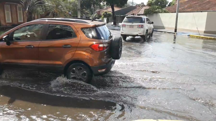 Asuncion Urban Flooding