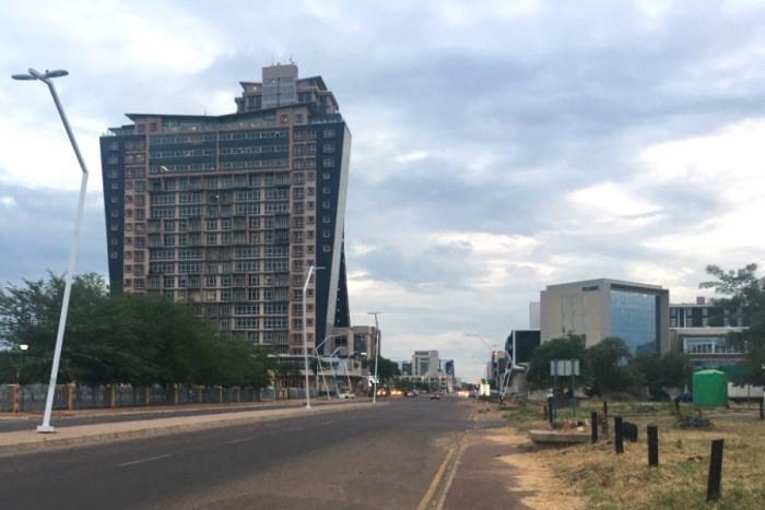 BOTSWANA, Gaborone 1 - SPS 700