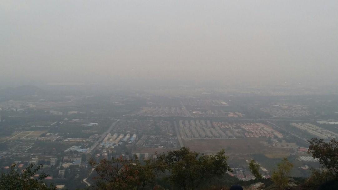 Beijing Pollution City Scape