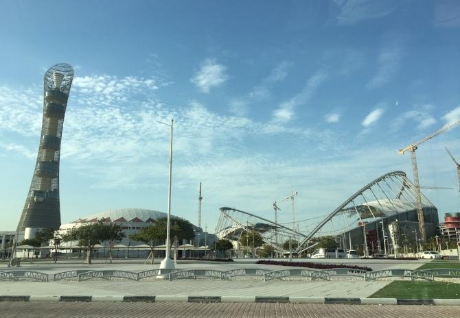 Doha, Qatar as seen during AIRINC's recent on-site survey. Photo taken by AIRINC surveyor Omar Tarabishi.