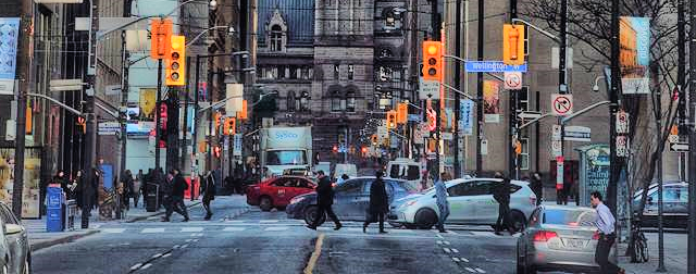 Toronto, Canada: AIRINC's February On-site Cost of Living Survey. Picture taken by Oscar Rasson