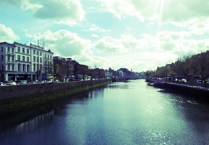 Dublin, Ireland, as seen during AIRINC's recent on-site cost of living survey.