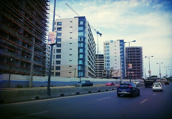 Luanda, Angola as seen during AIRINC's recent on-site cost of living survey. Photo taken by Oliver Jackson.