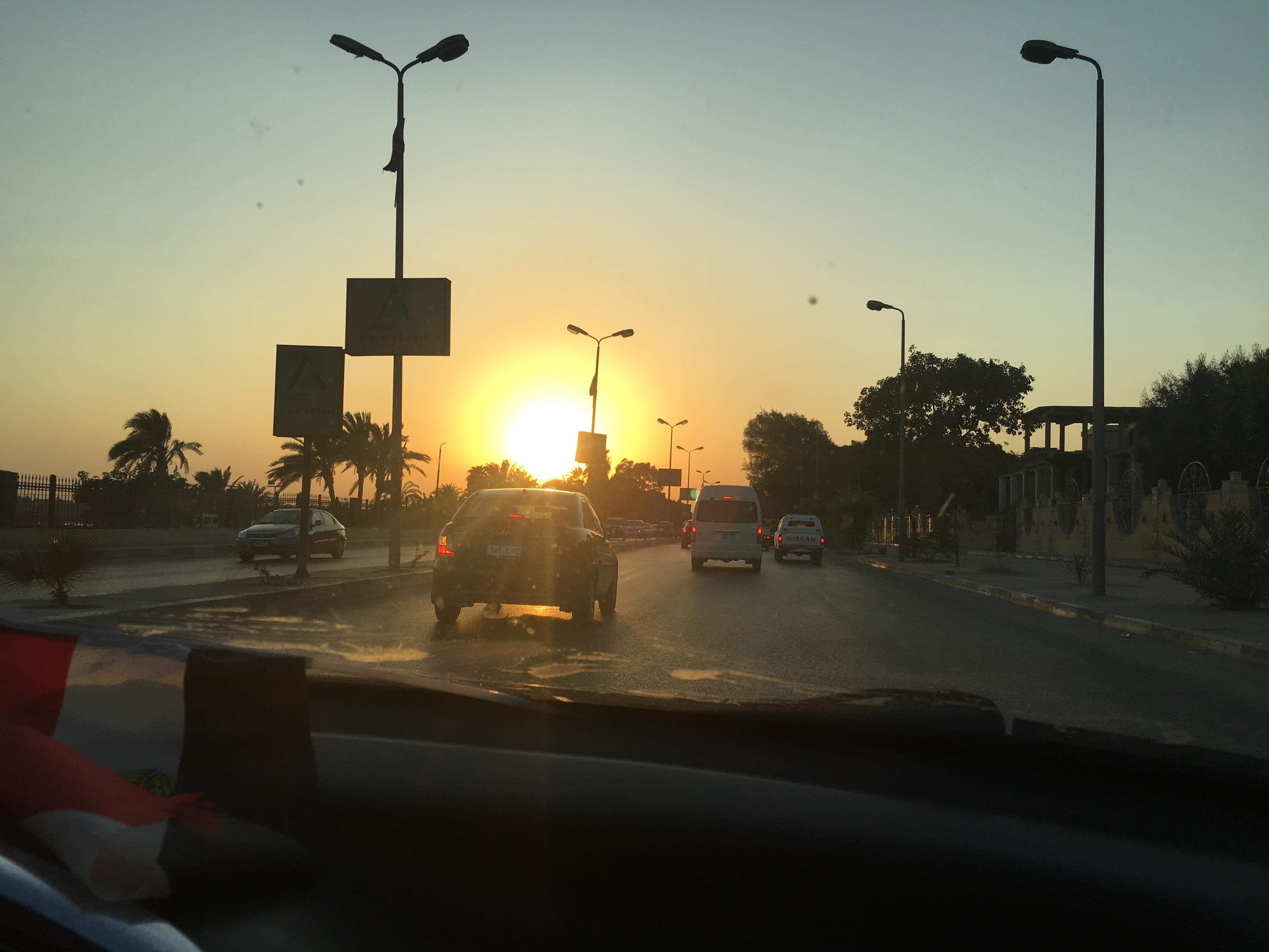 Cairo, Egypt as seen during AIRINC's recent on-site cost of living survey. Photo taken by AIRINC surveyor Omar Tarabishi.