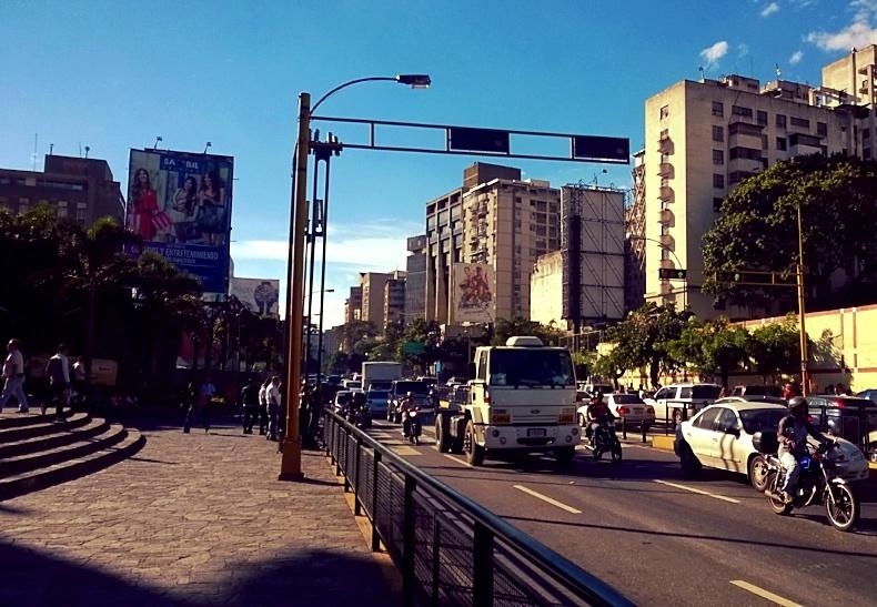 Caracas, Venezuela as seen during an AIRINC cost of living survey. Photo taken by AIRINC surveyor Anne Benjamin.