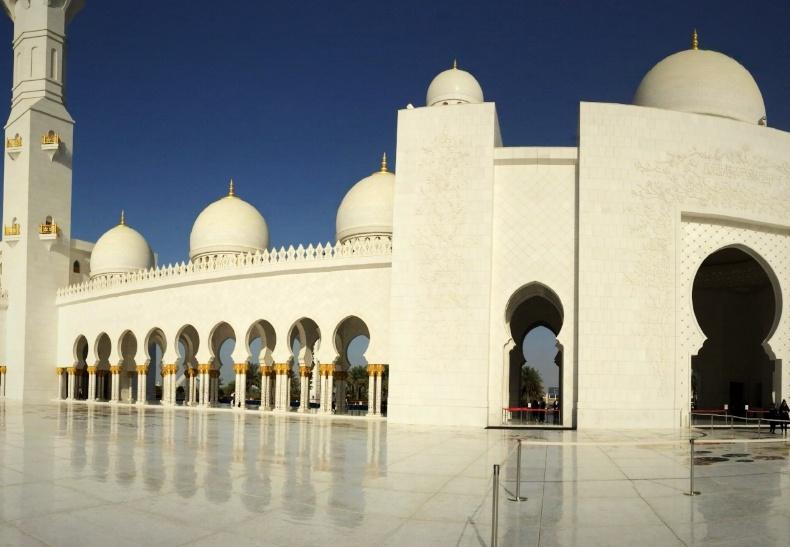 Abu Dhabi, U.A.E. as seen during a recent AIRINC survey. Photo taken by AIRINC surveyor Zenab Tavakoli.