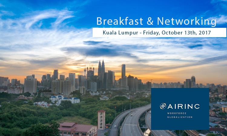 Breakfast and Networking in Kuala Lumpur, Malaysia with AIRINC!
