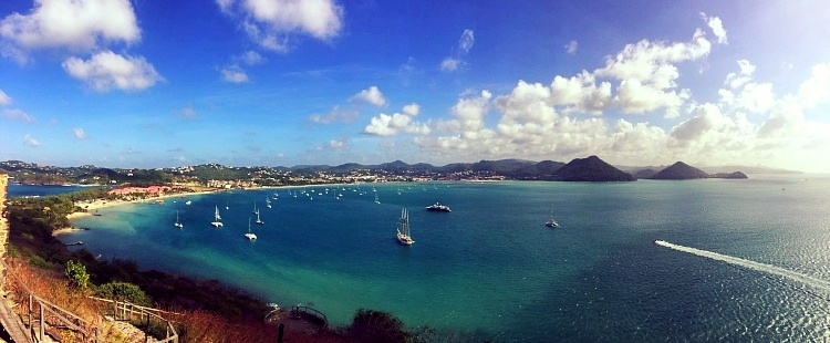 ST. LUCIA as seen during AIRINC's recent on-site cost of living survey. Photo taken by AIRINC surveyor Meleah Paull.