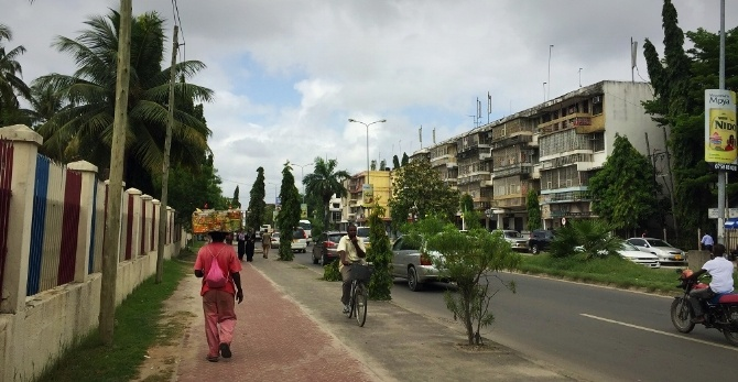 Dar es Salaam, Tanzania: AIRINC's February On-site Cost of Living Survey. Picture taken by Meleah Paull