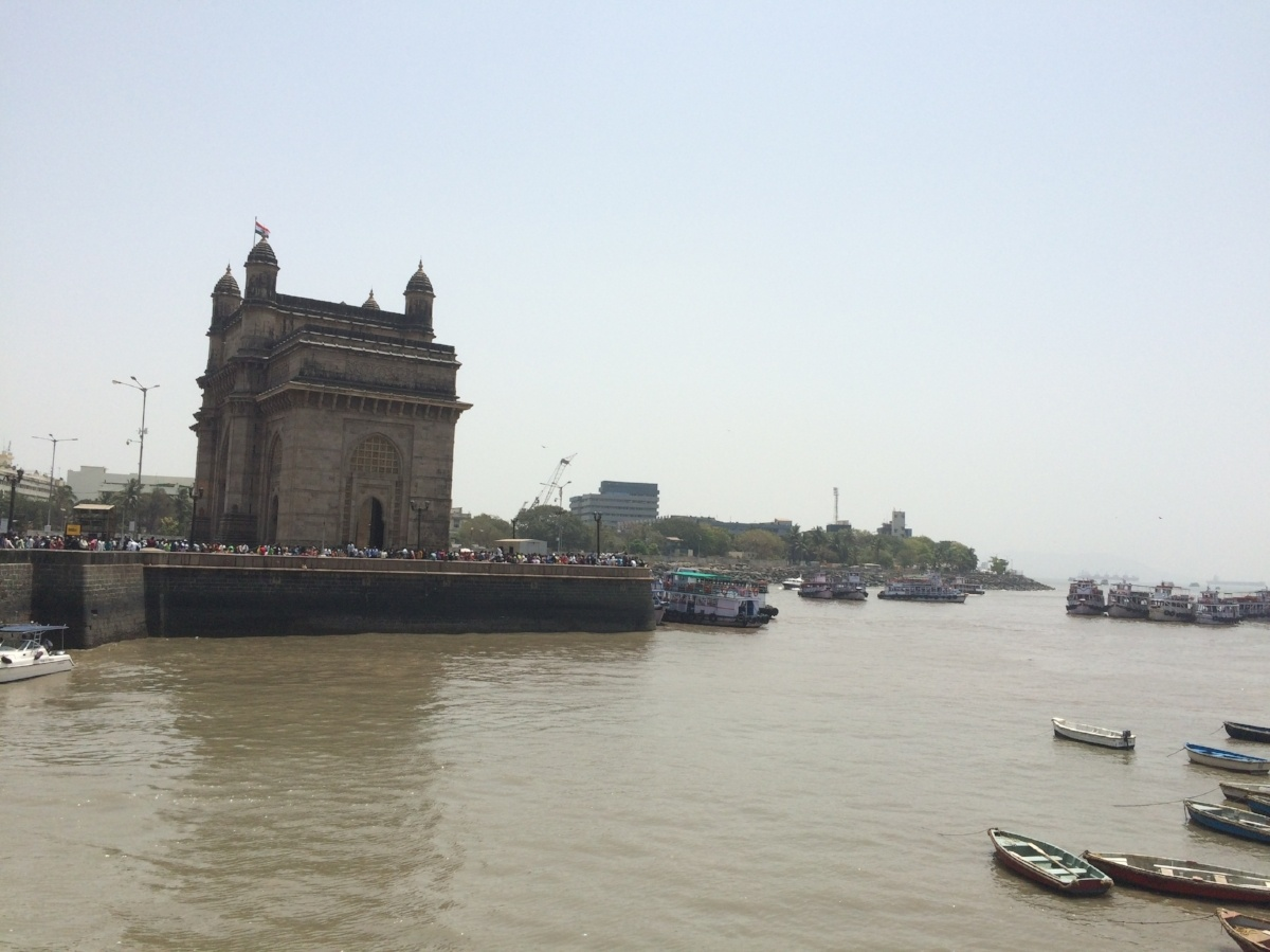 Mumbai, India as seen during our recent on-site cost of living survey. Photo taken by AIRINC surveyor Zach Rossignol.