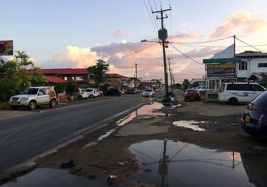 Paramaribo, Suriname as seen during AIRINC's recent on-site survey. Photo taken by AIRINC surveyor Meleah Paull.