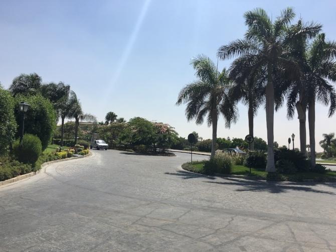 New Cairo, as seen during a recent AIRINC cost of living survey. Photo taken by AIRINC surveyor Omar Tarabishi.