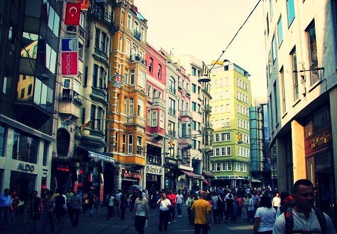 Istanbul, Turkey, as seen during AIRINC's recent on-site cost of living survey.
