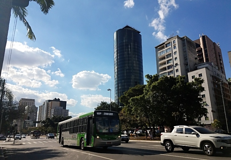 Sao Paulo, Brazil as seen during AIRINC's recent on-site survey. Photo taken by Meleah Paull.
