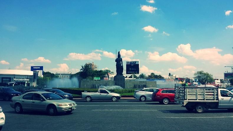 Guadalajara street view as seen during AIRINC's recent on-site survey. Photo taken by AIRINC surveyor Zenab Tavakoli