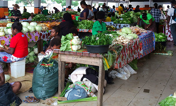 Port Vila market basket cost of living survey