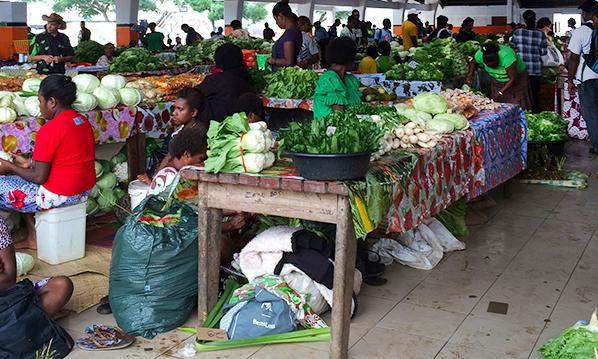 Port Vila market basket cost of living survey