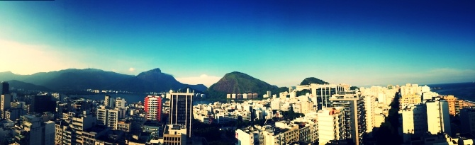 A scenic downtown view of Rio de Janeiro, Brazil as seen by AIRINC's on-site cost of living surveyor in 2016