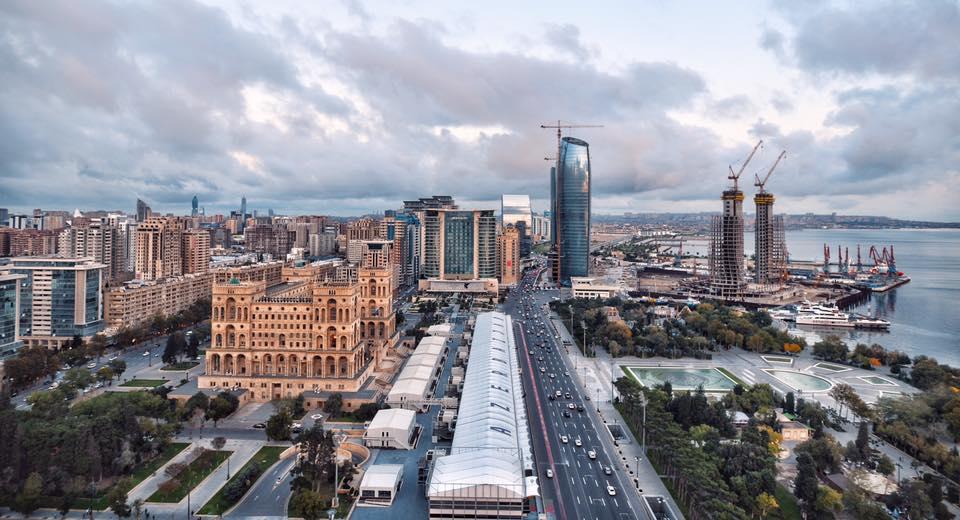 Baku, Azerbaijan as seen during a recent AIRINC on-site cost of living survey. Photo taken by AIRINC surveyor Oscar Rasson.