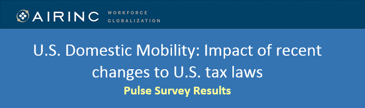 AIRINC REPORT: How the U.S. Tax Cuts and Jobs Act Impacts Domestic Mobility Programs