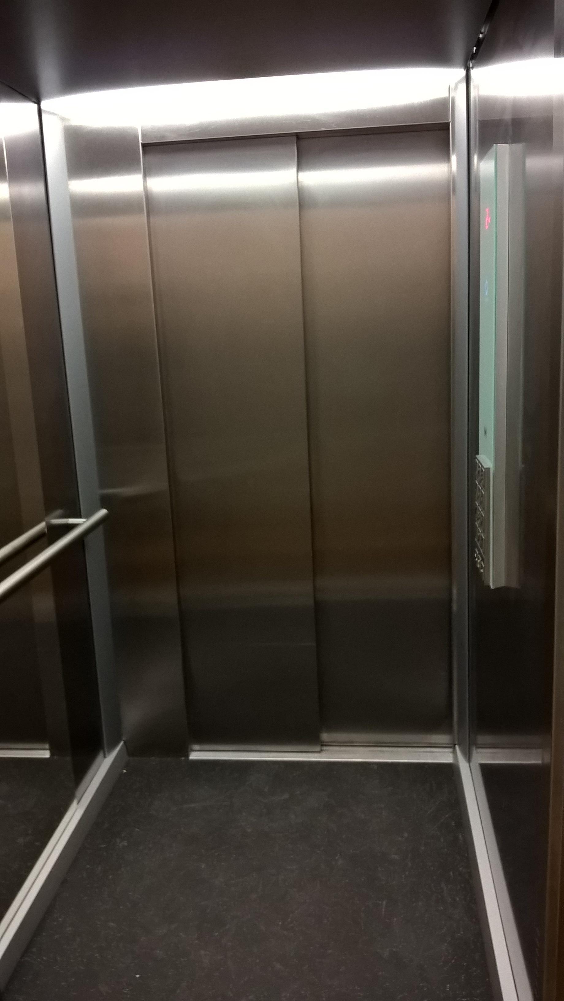 AIRINC's Brussel's Office Elevator