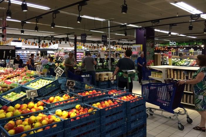 Brussels, Belgium during AIRINC survey 2