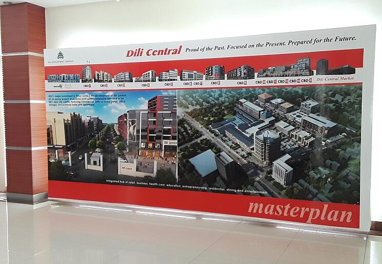 Dili Central Development Plan - use