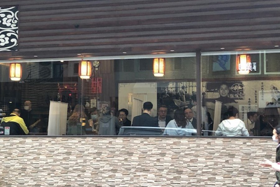 Dim Sum Square in Hong Kong - Restaurants with Dividers