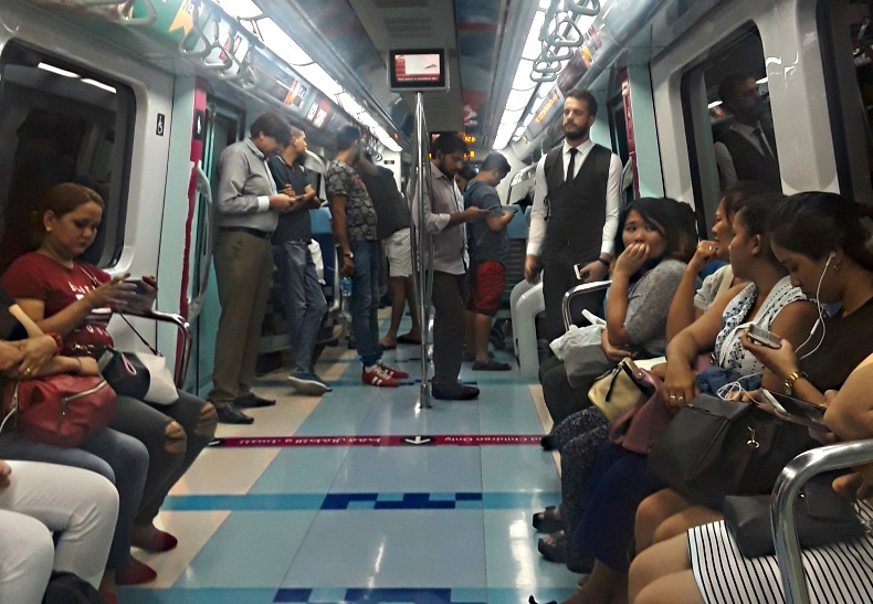 Dubai Metro and the Gender Divide