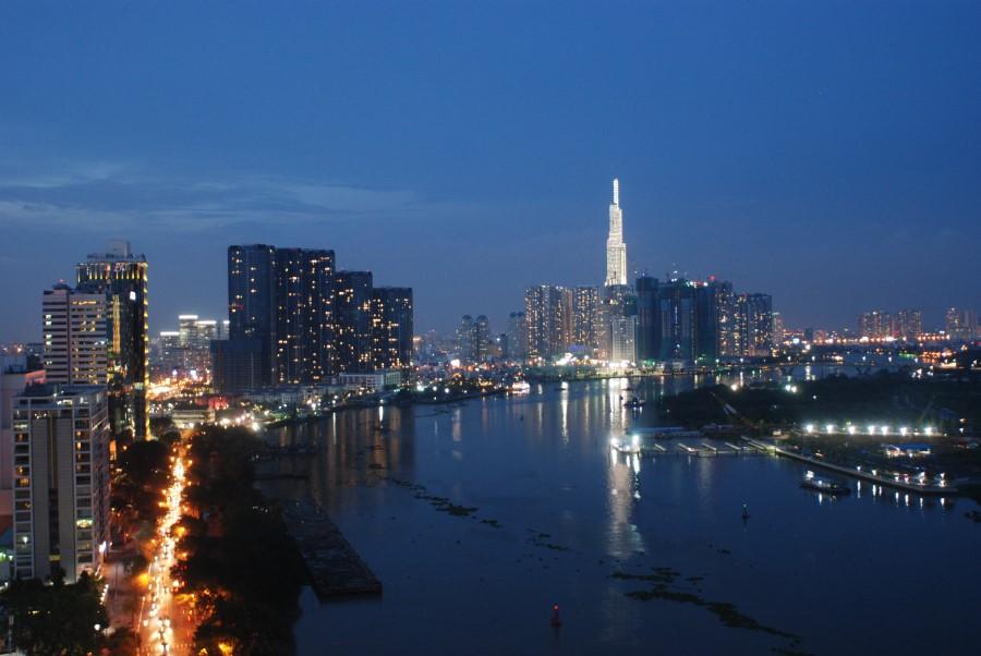 HCMC at night