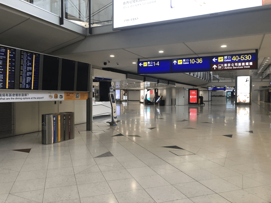 Hong Kong Airport Empty - 900