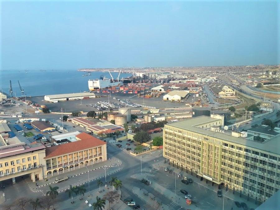Luanda Port from Eugene Kobiako
