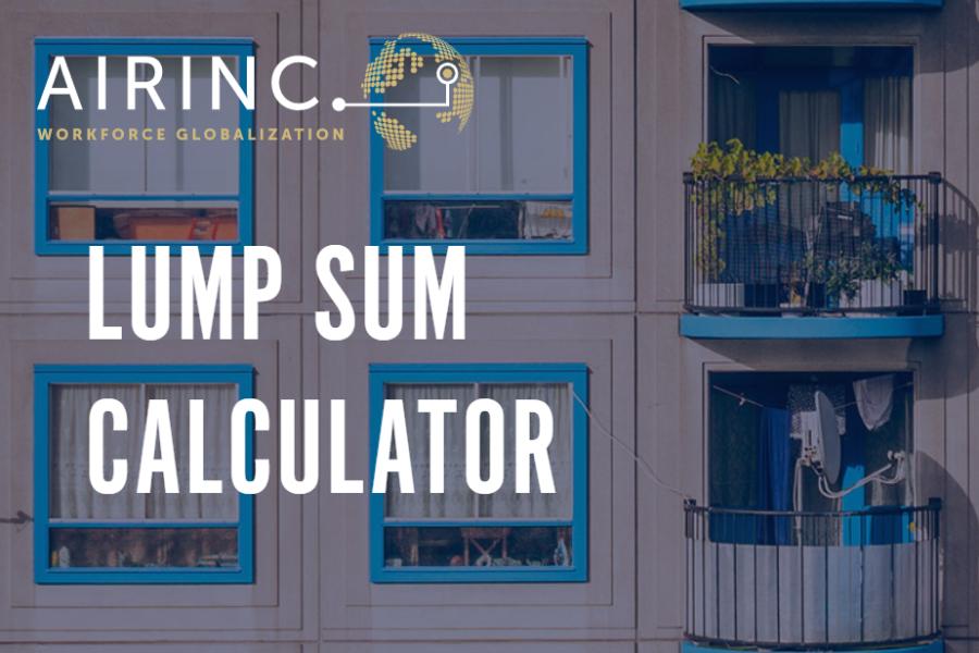 Lump Sum Calc