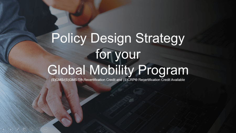 Policy Design Strategy