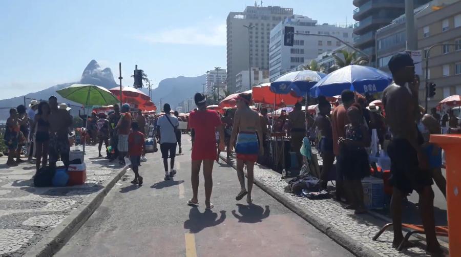 Rio de Janeiro during AIRINC cost of living survey