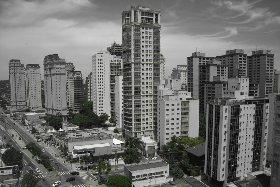 Sao Paulo as seen during an AIRINC survey
