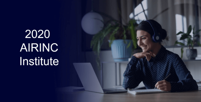 2020 AIRINC Institute Webinar Series