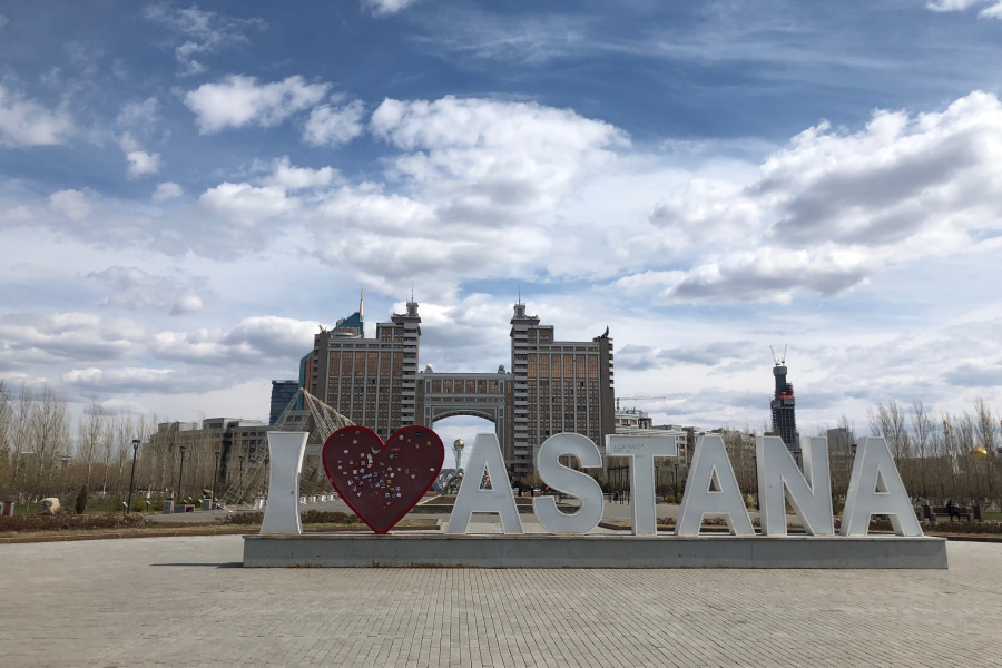 The Past and Present Capitals of Kazakhstan