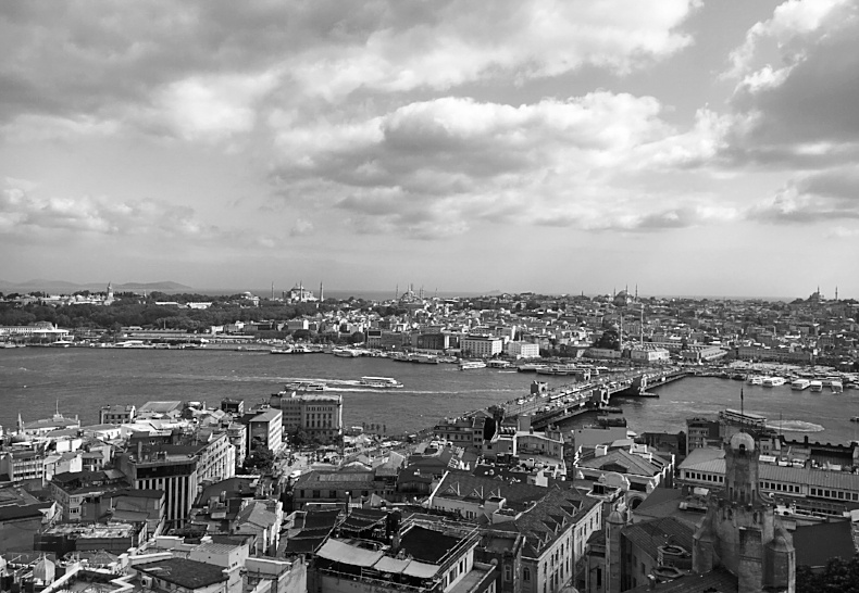 Istanbul, Turkey as seen during AIRINC's recent on-site cost of living survey. Photo depicts landscape view from Galata Tower.