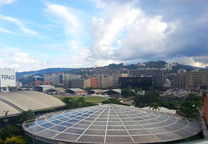 Caracas, Venezuela as seen during a recent AIRINC on-site survey. Photo taken by cost of living surveyor Matt McClintic.