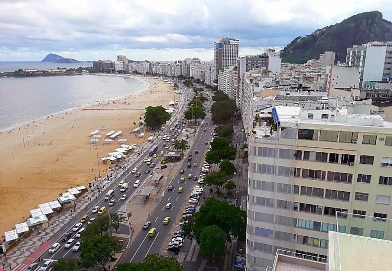 Rio de Janeiro, Brazil as seen during a recent AIRINC survey. Photo taken by AIRINC surveyor Anne Benjamin.