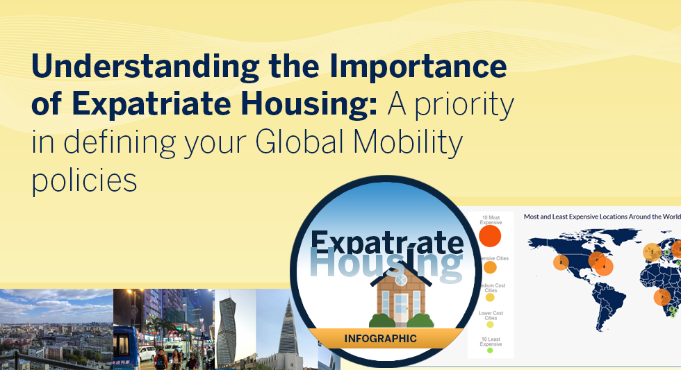 Understanding the Importance of Expatriate Housing: A priority in defining your Global Mobility policies (Infographic)